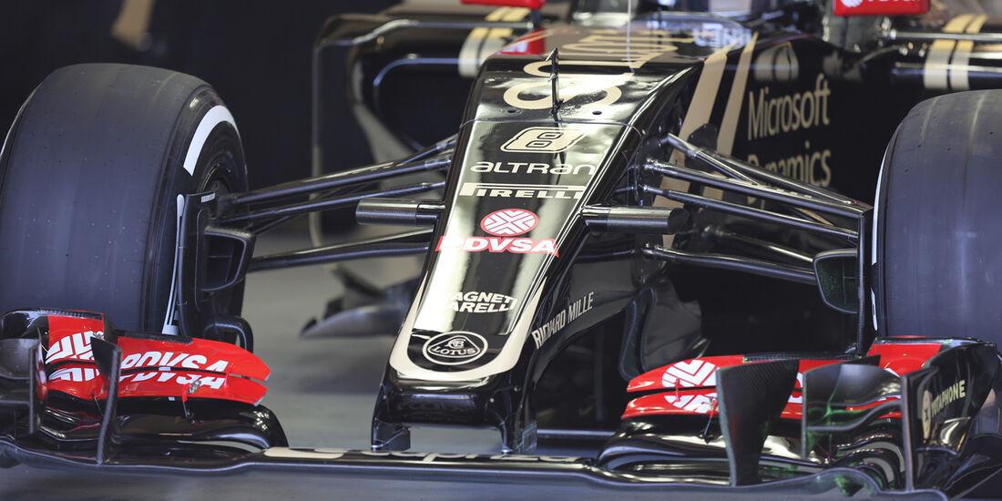 Lotus E23 - Technik-Check - Formel 1 - 2015