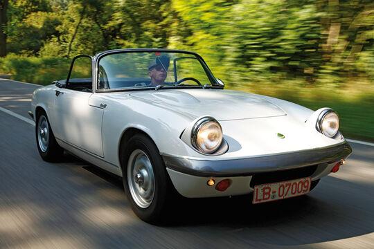Lotus Elan S3 S/E, Baujahr 1967