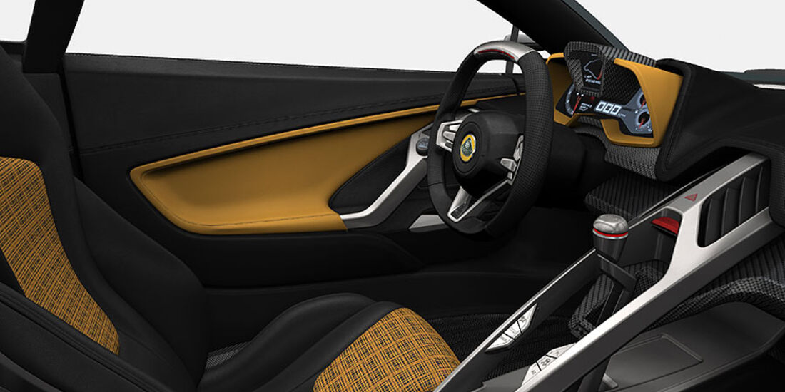 Lotus Elise 2015 Interieur