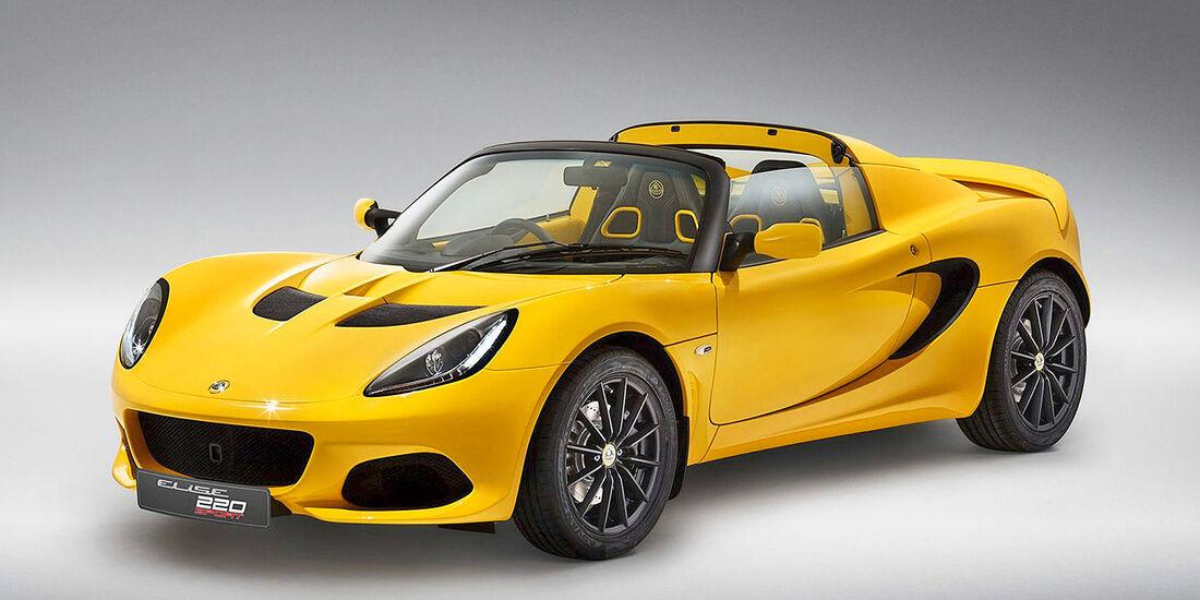 Lotus Elise Sport 220 - Serie - Cabrios bis 50000 Euro - sport auto Award 2019