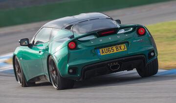 Lotus Evora 400, Heckansicht