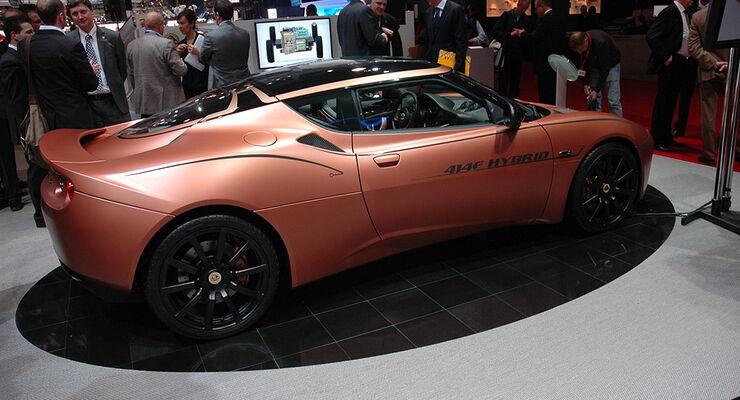 Lotus Evora Hybrid Genf 2010