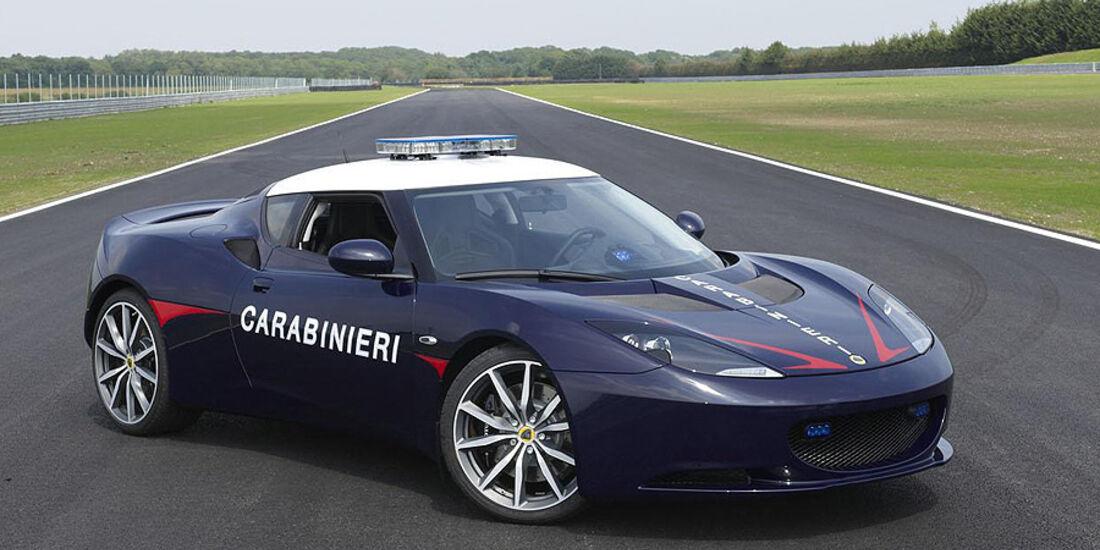 Lotus Evora S Polizei