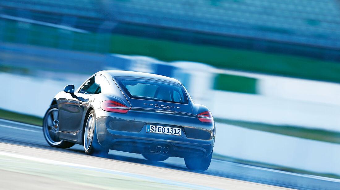 Lotus Evora S Sports Racer, Heckansicht, Driften