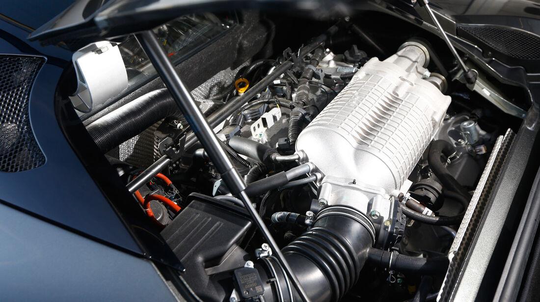 Lotus Evora S Sports Racer, Motor