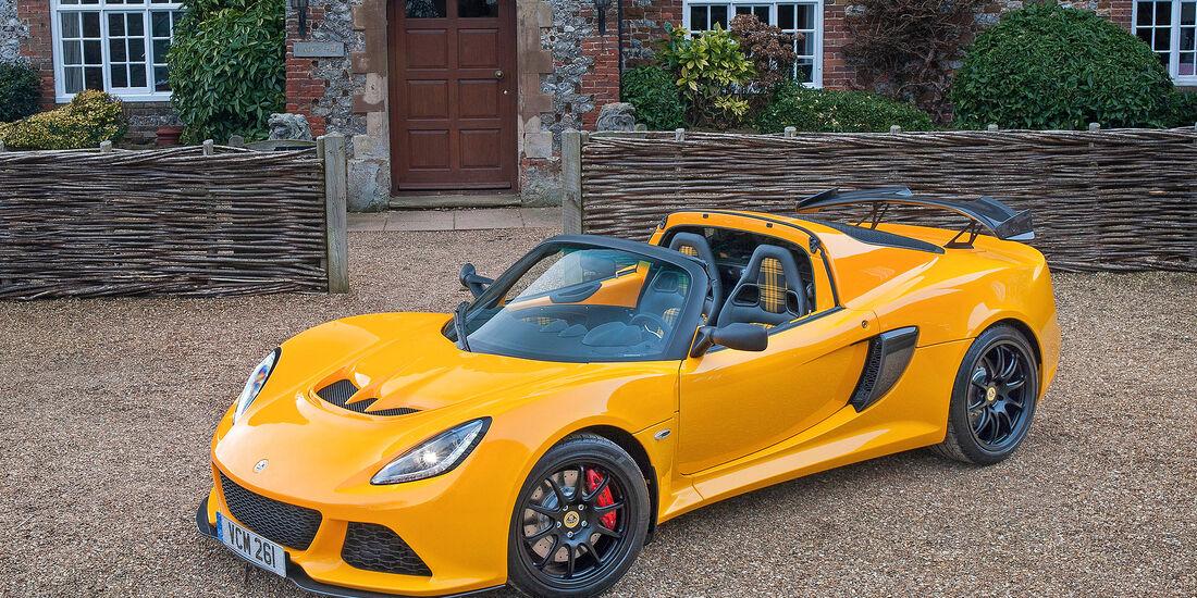 Lotus Exige Roadster 350 - Serie - Cabrios bis 100000 Euro - sport auto Award 2019