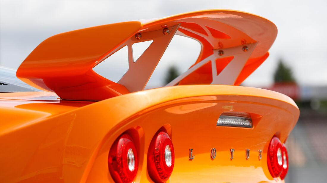 Lotus Exige S, Heckflügel