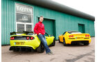Lotus Exige S Roadster Automatic Option, Lotus Elise S Cup, Heckansicht