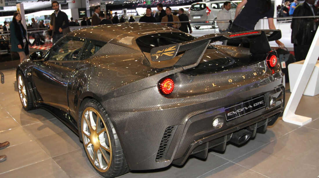 Lotus F1 Team Evora GTE, Autosalon Genf 2012, Messe