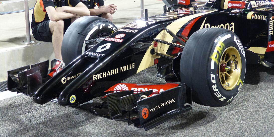 Lotus - Formel 1 - GP Bahrain - Sakhir - 3. April 2014