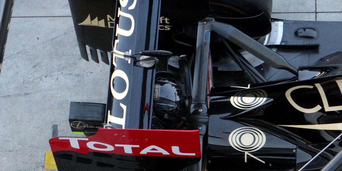 Lotus - Formel 1 - GP Italien - 7. September 2013