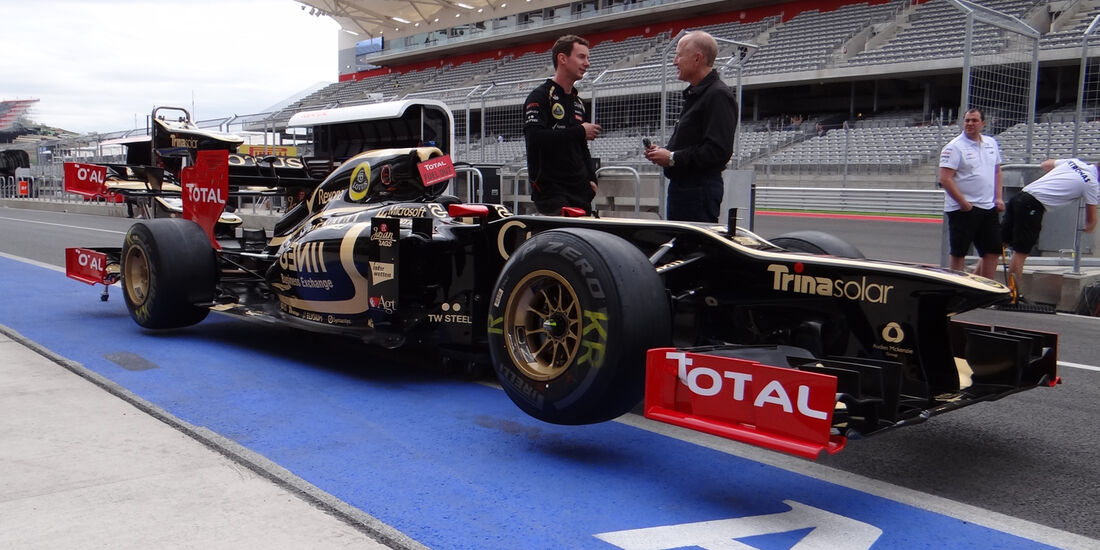 Lotus - Formel 1 - GP USA - Austin - 15. November 2012