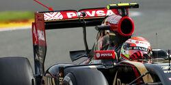Lotus - Formel 1 - Technik - GP Belgien 2014