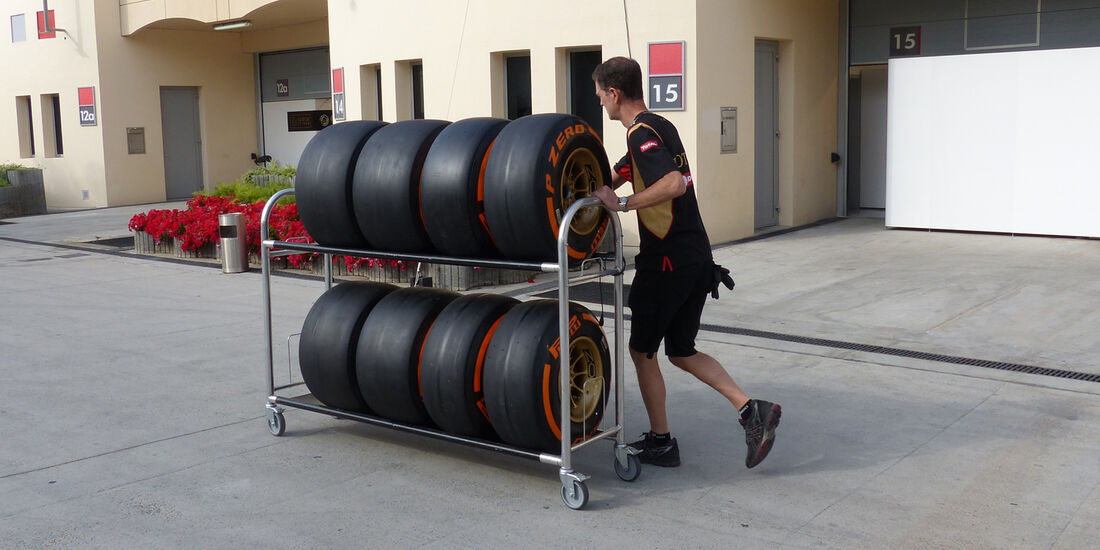 Lotus - Formel 1 - Test - Bahrain - 27. Februar 2014