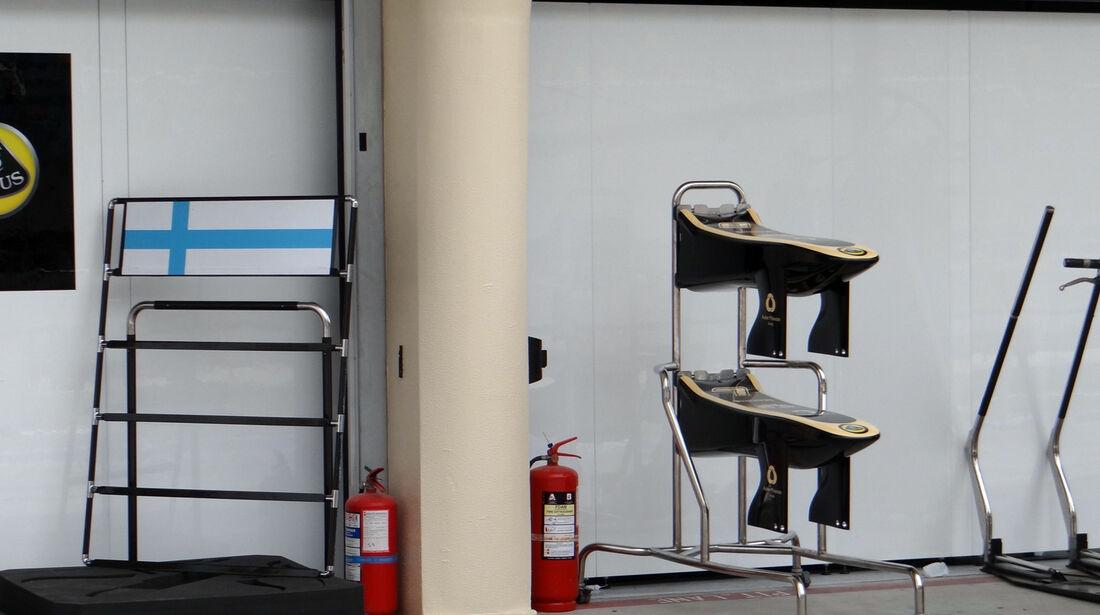 Lotus Frontflügel - Formel 1 - GP Bahrain - 18. April 2013