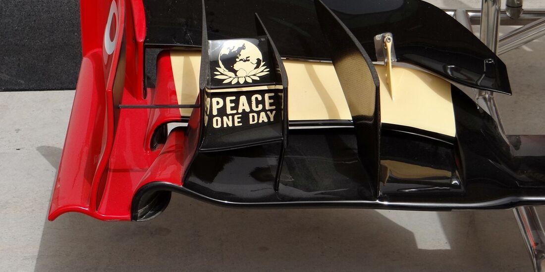 Lotus Frontflügel - Formel 1 - GP Bahrain - 20. April 2012