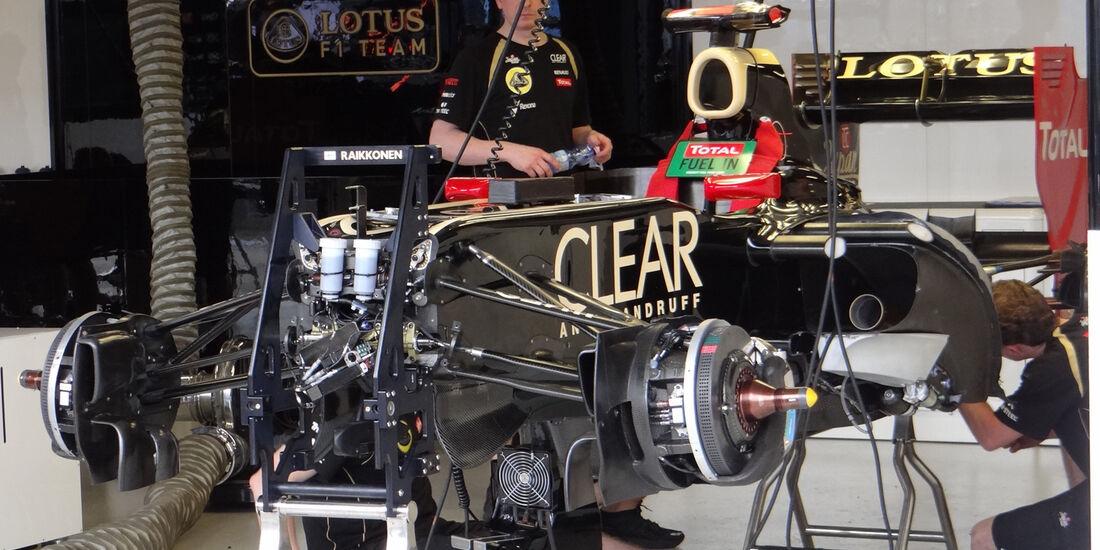 Lotus - GP Australien - Melbourne - 15. März 2012