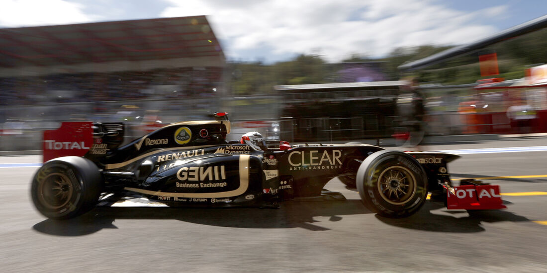 Lotus GP Belgien 2012