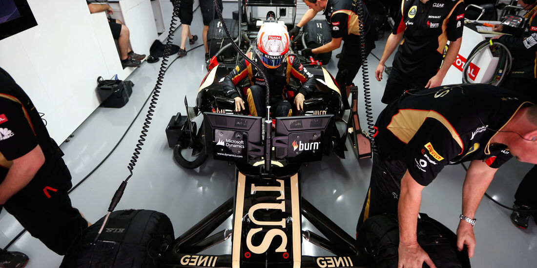 Lotus - GP Indien 2013