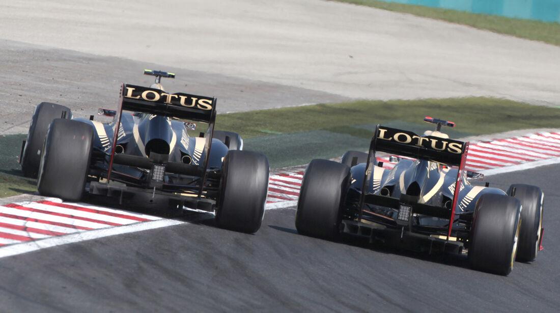 Lotus GP Ungarn 2012