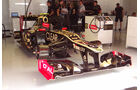 Lotus-Garage - GP Spanien - 12. Mai 2012