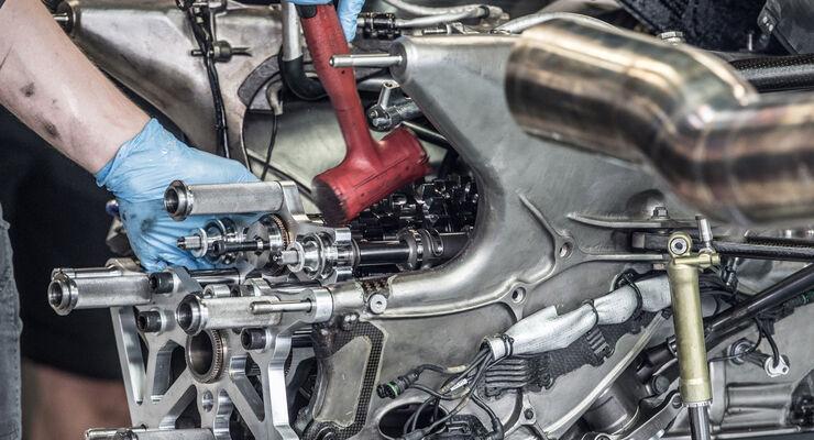 Lotus-Getriebe - GP Italien 2014 - Danis Bilderkiste