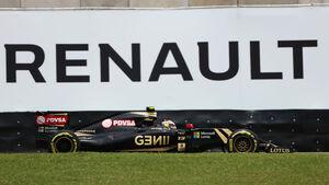 Lotus - Maldonado - Renault - GP Brasilien 2015