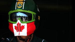 Lotus-Mechaniker GP Kanada 2011