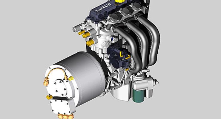 Lotus Range Extender Motor