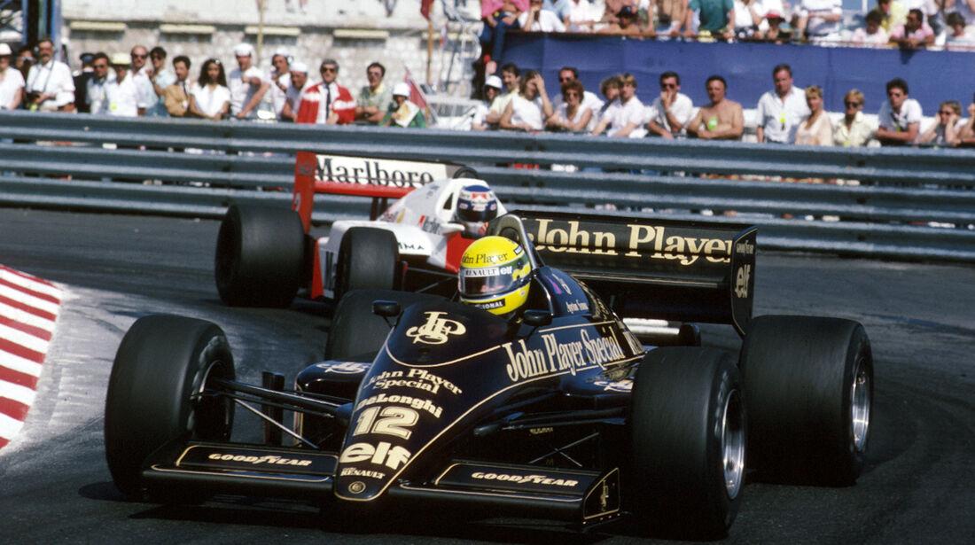 Lotus-Renault - 1986 - Ayrton Senna - GP Monaco