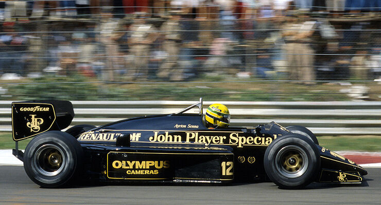 Lotus Renault 97T Senna 1985