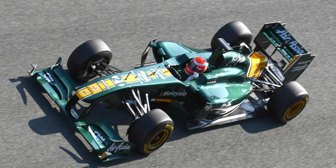 Lotus T128 Trulli Test 2011