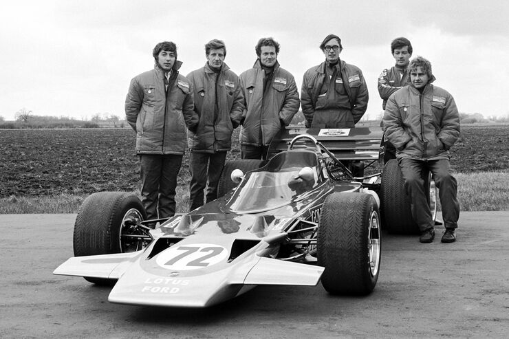 Lotus - Teamvorstellung 1970