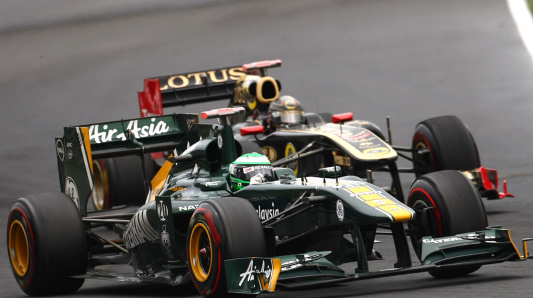 Lotus vs. Renault