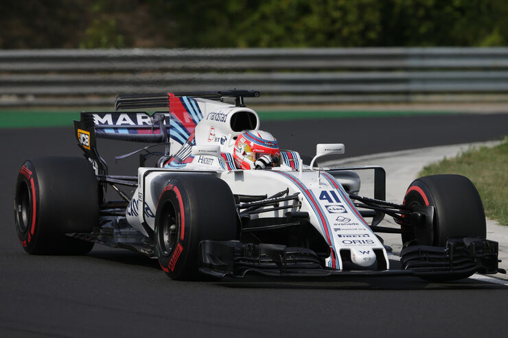 Luca Ghiotto - Williams - Formel 1 - Budapest - Test - 2. August 2017
