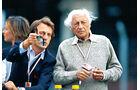 Luca Montezemolo - Ferrari - Gianni Agnelli - Fiat - Silverstone 1996