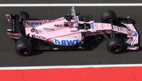 Lucas Auer - Force India - Formel 1 - Budapest - Test - 2. August 2017