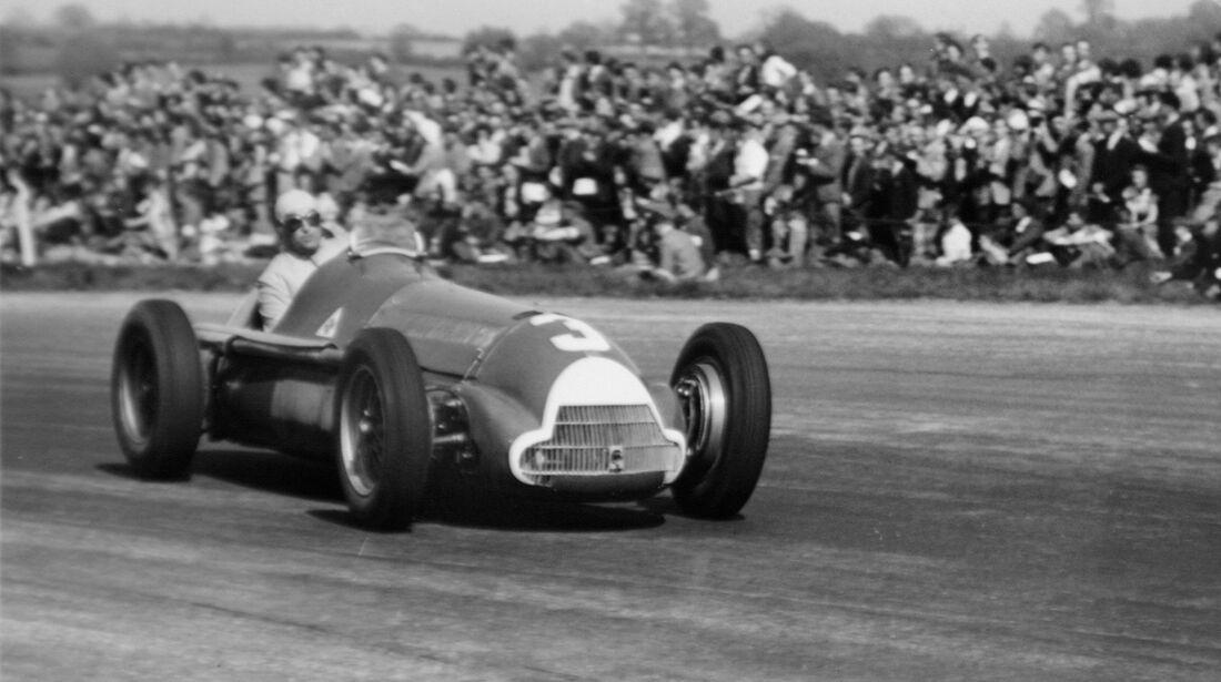 Luigi Fagioli - GP England 1950