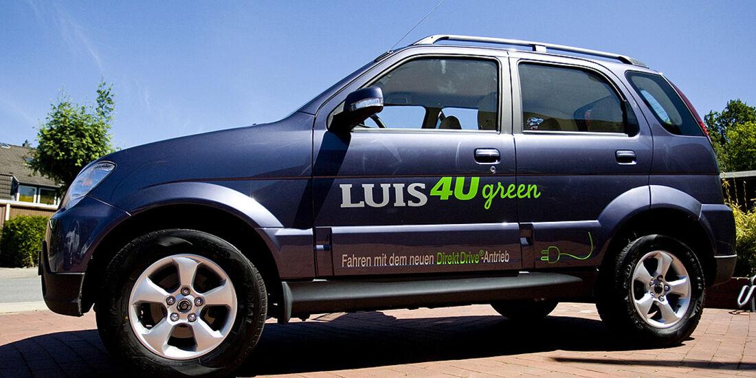 Luis 4U Sondermodell, Elektroauto, SUV