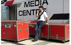 Luis Garcia Abad (Alonso-Manager) - Formel 1 - GP Russland - Sochi - 8. Oktober 2014