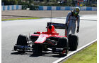 Luiz Razia Marussia F1 Test Jerez 2013 Highlights