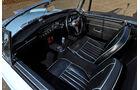 MG B, Cockpit