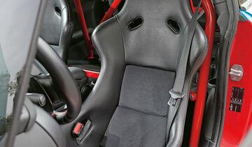 MG-Performance-Mini JCW, Fahrersitz