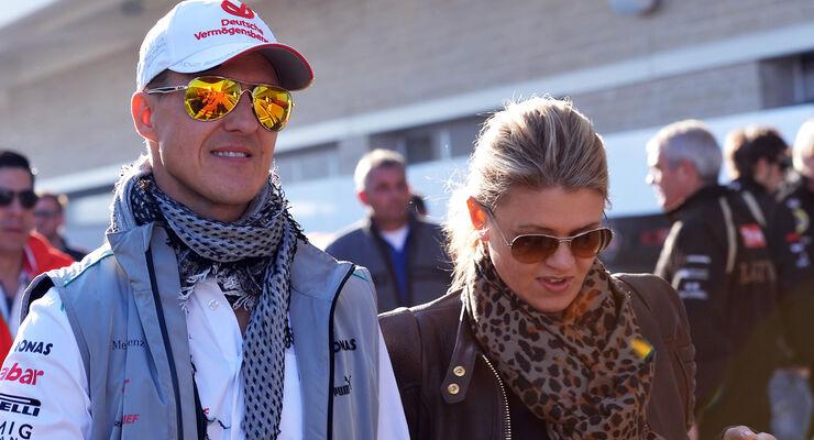 MIchael & Corinna Schumachaer - Formel 1 2012