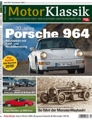 MKL Motor Klassik Heft 04/2018 Cover