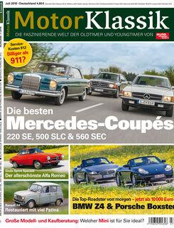 MKL Motor Klassik Heft 07/2018 Cover