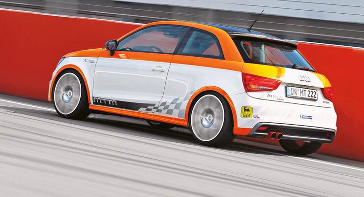 MTM-Audi A1 Nardo Edition, Heck, Rückansicht