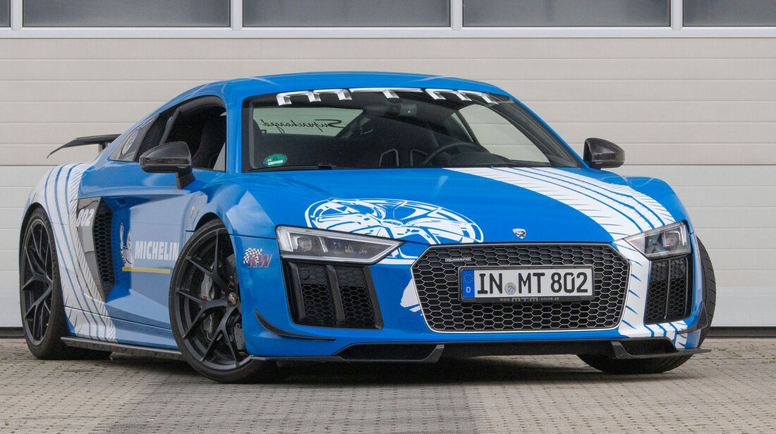 MTM-Audi R8 Supercharged - Tuning - Supersportler - sport auto Award 2019