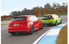 MTM-Audi S3, Heico-Volvo V40 T5 HPC, Heckansicht