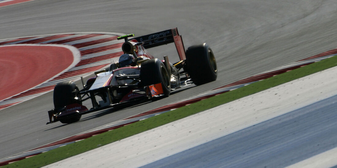 Ma Qing Hua - HRT - Formel 1 - GP USA - Austin - 16. November 2012